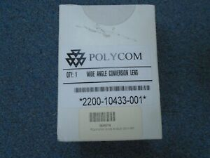 New Polycom Viewstation Video Conf Wide Angle Conversion Lens 2200 10433 001