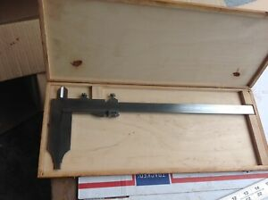 Mauser 11 Vernier Caliper With Case Made In Germany