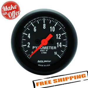 Auto Meter 2654 Z series Electric Pyrometer Gauge Kit