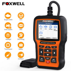 Foxwell Nt510 Elite Oil Service Epb Reset Tool For Gm Diagnostic Obd2 Scanner