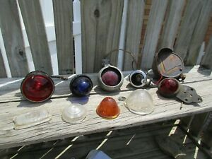 1930 S 1960 S Vintage Car Collection Of Lights Guide Arrow Turn Signal Hot Rod