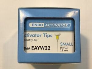 Maillefer Tulsa Endo Activator Tip size Small 15 02 pack Of 25 Tips For Dental