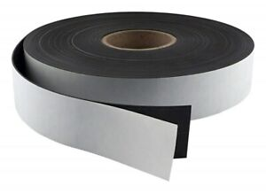Master Magnetics Flexible Magnet Strip With Adhesive Back 1 16 Zg90a a50bx