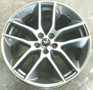 2015 2017 Ford Mustang Rim Wheel 20x9 Machined Stock Alloy Fr3c1007ea Oem