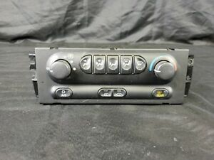 1998 02 Oldsmobile Intrigue A C Heater Climate Control Unit 10438852 Oem