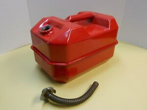 Vintage Blitz Metal 2 5 Gallon Gas Fuel Can Usmc W Spout