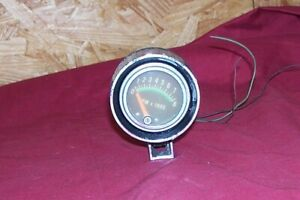 Vintage 3 Made In Usa Small Little 8000 Rpm Tach Tachometer Old Muscle Car Mini