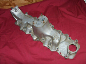 Old 1936 Ford Flathead V8 Aluminum Engine Intake Manifold Vintage Car Automobile