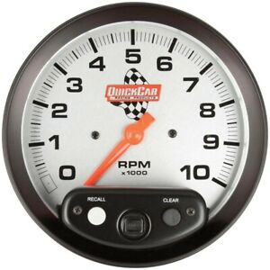Quickcar Racing Products 10000 Rpm Analog Tachometer P N 611 6001