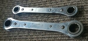 Cornwell Tools 2 Ratchet 12 Point Box Wrench Rb 1618 2022 Usa 9 16 1 2 5 8 11 16