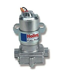 Holley 12 812 1 110 Gph Blue Electric Pump Without Regulator Hol 12 812 1