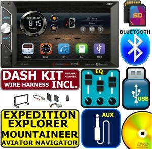 02 03 04 05 06 Ford Lincoln Cd dvd Bluetooth Usb Sd Aux Car Radio Stereo Package