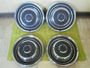 1969 Chrysler 300 Hub Caps 15 Set Of 4 Wheel Covers Hubcaps 69