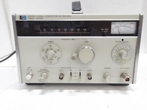 Hp 8654a Signal Generator 10 520 Mhz Nice Unit