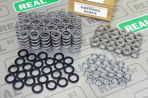 Gsc Dual Valve Spring Kit 125lbs With Titanium Retainers For Toyota 2jz Gte 5266