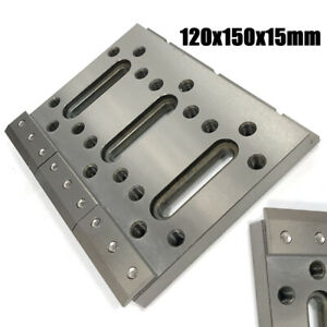 Wire Edm Fixture Board Stainless Jig Tool F Clamping Leveling 120x150x15 Pro