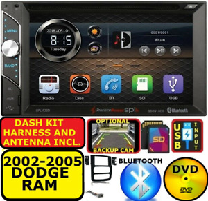 2002 2005 Dodge Ram Cd dvd Bluetooth Usb sd Aux Eq Touchscreen Car Stereo Radio