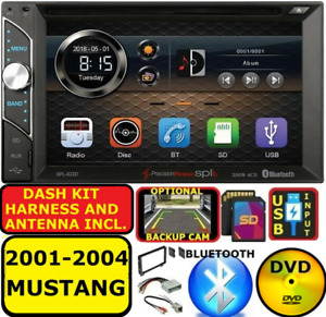 2001 2004 Ford Mustang Cd Dvd Usb Sd Bluetooth Touchscreen Car Radio Stereo Pkg