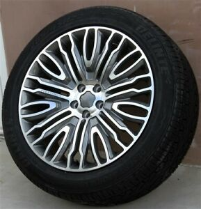New 4 22x10 5x120 Wheels Tires Pkg Fit Range Rover Sport Hse Overfinch Style