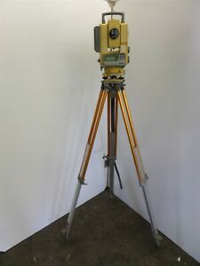 Topcon Ap l1a Robotic Auto Tracking Total Station W Tripod As Is