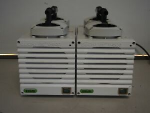 Lot Of 2 Buchi V 500 Diaphragm Vacuum Pumps 25mbar As Is Run Loud