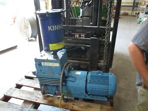 Tuthill Kinney Vacum Pump With Lincoin Electric Motor 712858r Used