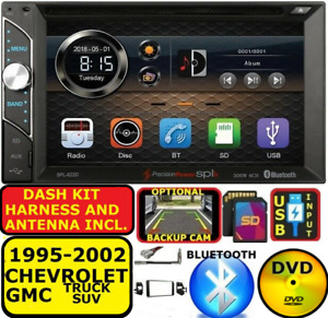 95 02 Gm Truck suv Dvd Cd Touchscreen Bluetooth Double Din Car Stereo Radio