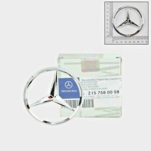 Brand New Oem Mercedes Benz Trunk Lid Star Emblem Badge A 215 758 0058