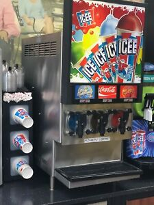 Icee Machine 3 Headed Working Condition
