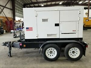 Used Multiquip Dca70 Generator Set 56kw