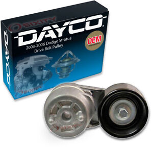 Dayco Drive Belt Pulley For 2003 2006 Dodge Stratus 2 4l L4 Tensioner Lb