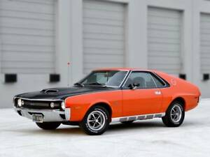 Amx Amc 1970 Factory 4 Speed For Sale Nut And Bolt Restored