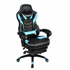 Office Gaming Chair Racing Style High Back Ergonomic Computer Recliner Footrest