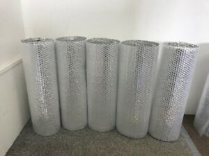 Shed Insulation Single Foil Bubble Insulation With Tape Option free Postage