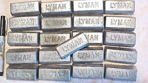 100 lbs of clean lead Ingots - For casting bullets sinkers jigs Bh 10-12  $250.00