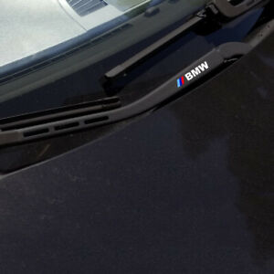 Bmw M Performance Wiper Blade Vinyl Decal Stickers Fit All Bmw Series 3 Pieces