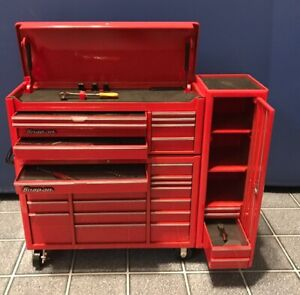 Snap On Tool 1 8 Scale Die Cast Bank And Storage Roll Cab Top Chest Locker