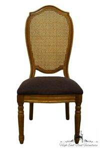 Thomasville Furniture Villager Collection Cane Back Dining Side Chair 20421 861