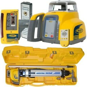 Spectra Laser Level Ll300n With Cr600 Receiver Excavation Kit