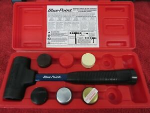 Blue Point Hsp16kt Dead Blow Hammer Set 6 Interchangeable Heads In A Case New