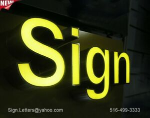 New Channel Letter 24 Business Store Front Sign Letters Custom Made