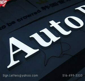 New Channel Letter 18 Business Led Sign Letters Custom Made
