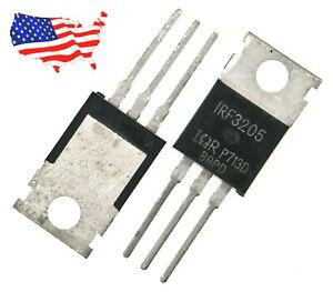 Irf3205 5 Pcs N channel 55v 110a To 220 Power Mosfet From Usa