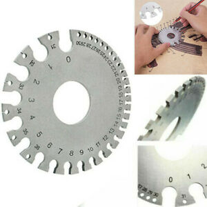 Wire Sheet Gage Gauge For Iron And Steel Us Standard Thickness Measuring Gauge