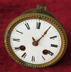 Good French 8 Day Count Wheel Escapement Clock Movement