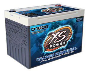 Xs Power Battery 675 Cranking Amps 16 V D Series Agm Battery P N D1600