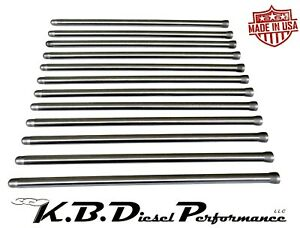 Extreme Duty Pushrods For 1998 5 2019 5 9l 6 7l Dodge Cummins Made In Usa