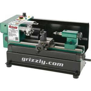 Grizzly G0745 4 X 6 Micro Metal Lathe