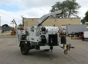 12 Altec Wood Chipper Cfd 1217 Large Commercial Chipper Work Ready