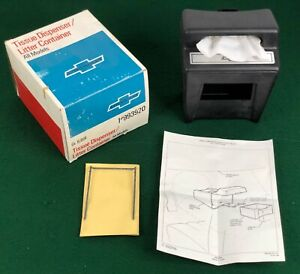 Nos 1970 72 Chevrolet Camaro chevelle impala Accessory Tissue Dispenser 993920